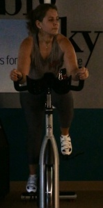 Biking on his 47th
