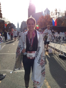 I talked about running a half marathon when he was alive, but never did. So doing the Philly Half Marathon was one of the most satisfying and euphoric days.
